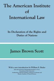 The American Institute of International Law, Scott James Brown