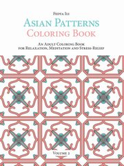 Asian Patterns Coloring Book, Ili Fedya