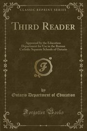 Third Reader, Education Ontario Department of