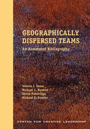 Geographically Dispersed Teams, Sessa Valerie I.