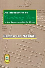 An Introduction to Company Law in the Commonwealth Caribbean, University Press of the West Indies