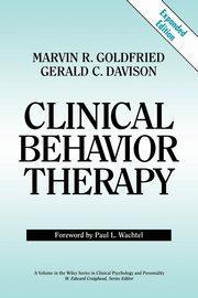 Clinical Behavior Therapy, Goldfried