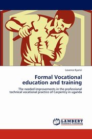 Formal Vocational education and training, Kyarizi Lovance
