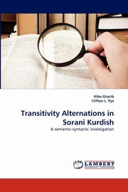 Transitivity Alternations in Sorani Kurdish, Gharib Hiba