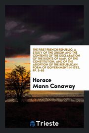 The first French republic, Conaway Horace Mann