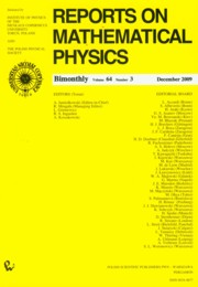 Reports on Mathematical Physics 64/3 2009,
