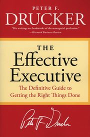 Effective Executive, The, Drucker Peter F.