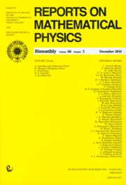 Reports on Mathematical Physics 66/3 2010 Kraj,