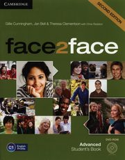face2face 2ed Advanced Student's Book + DVD, Cunningham Gillie, Bell Jan, Clementson Theresa