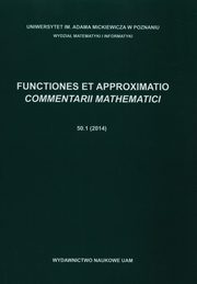 Functiones et approximatio,