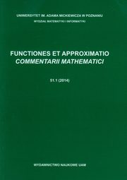 Functiones et approximatio commentarii mathematici 51.1,