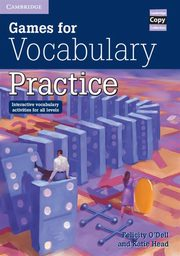 Games for Vocabulary Practice, Odell Felicit, Head Katie