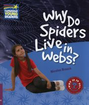 Why Do Spiders Live in Webs?, Brasch Nicolas
