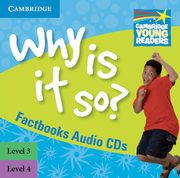 Why Is It So? 3-4 Factbook Audio 2CD, Kent Brenda