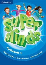 Super Minds 1 Flashcards, Puchta Herbert, Gerngross Günter