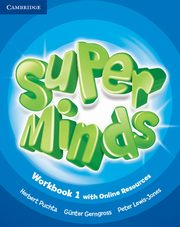 Super Minds 1 Workbook with Online Resources, Puchta Herbert, Gerngross Gunter, Lewis-Jones Peter