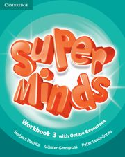 Super Minds 3 Workbook with Online Resources, Puchta Herbert, Gerngross Gunter, Lewis-Jones Peter