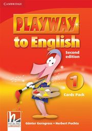 Playway to English 1 Cards Pack, Gerngross Günter, Puchta Herbert