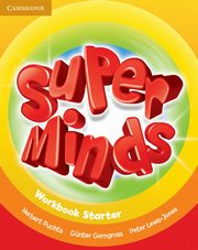 Super Minds Starter Workbook, Puchta Herbert, Gerngross Gunter, Lewis-Jones Peter
