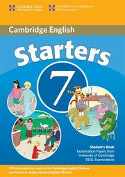 Cambridge English Starters 7 Student's Book,