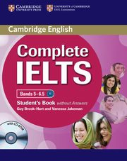 Complete IELTS Bands 5-6.5 Student's Book without answers, Brook-Hart Guy, Jakeman Vanessa