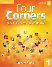Four Corners 1 Student's Book with Self-study CD-ROM, Richards Jack C., Bohlke David