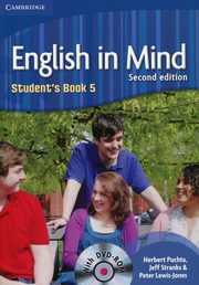 English in Mind 5 Student's Book + DVD-ROM, Puchta Herbert, Stranks Jeff
