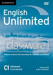 English Unlimited Advanced Classware DVD, Doff Adrian, Goldstein Ben