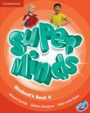 Super Minds 4 Student's Book + DVD, Puchta Herbert, Gerngross Günter, Lewis-Jones Peter