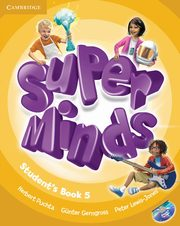Super Minds 5 Student's Book + DVD, Puchta Herbert, Gerngross Günter,  Lewis-Jones Peter