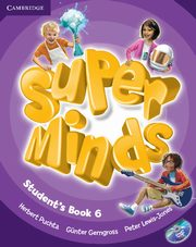 Super Minds 6 Student's Book + DVD, Puchta Herbert, Gerngross Günter, Lewis-Jones Peter