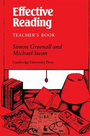 Effective Reading Teacher's Book, Greenall Simon, Swan Michael