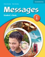 ksiazka tytuł: Messages 1 Student's Book autor: Goodey Diana, Goodey Noel