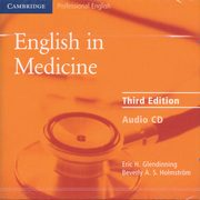 English in Medicine Audio CD, Glendinning Eric H.,Holmstrom Beverly A. S.