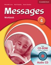 ksiazka tytuł: Messages 4 Workbook + CD autor: Goodey Diana, Goodey  Noel, Levy Meredith