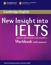 New Insight into IELTS Workbook with Answers, Jakeman Vanessa, McDowell Clare