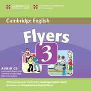 Cambridge Young Learners English Tests Flyers 3 Audio CD,