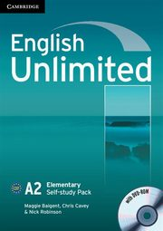 English Unlimited Elementary Self-study Pack Workbook + DVD, Baigent Maggie, Cavey Chris, Robinson Nick