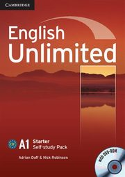 English Unlimited Starter Self-study Pack + DVD, Doff Adrian, Robinson Nick