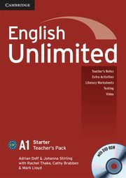 English Unlimited Starter Teacher's Pack +DVD, Doff Adrian, Stirling Johanna