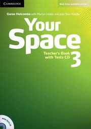 Your Space 3 Teacher's Book + Tests CD, Holcombe Garan, Hobbs Martyn