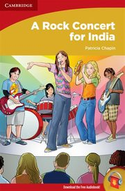 A Rock Concert for India, Chapin Patricia