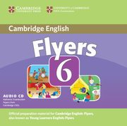 Cambridge Young Learners English Tests 6 Flyers Audio CD,