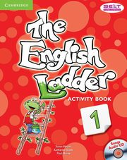 The English Ladder Level 1 Activity Book with Songs Audio CD, House Susan, Scott Katharine, House Paul