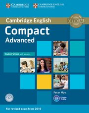 Compact Advanced Student's Book with Answers + CD, May Peter