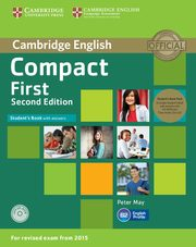 Compact First Student's Book with Answers +2 CD, May Peter