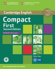 Compact First Workbook, May Peter