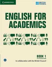 English for Academics 1 Book with Online Audio,