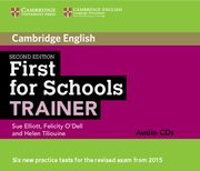 First for Schools Trainer Audio 3 CD, Elliott Sue, O'Dell Felicity, Tiliouine Helen