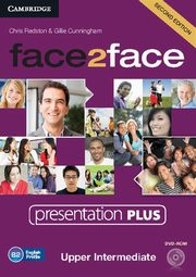 face2face Upper Intermediate Presentation Plus, Chris Redston , Gillie Cunning